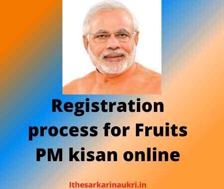Fruits PM kisan Status online